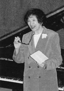 Dr. Haruko Kataoka.  Photo by Andy Rawls.