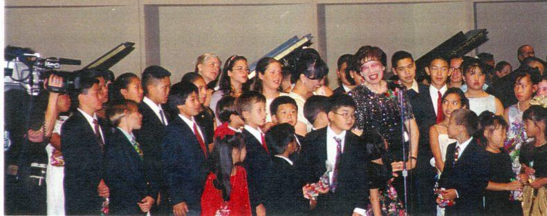 The Performers and Dr. Kataoka